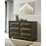 Winegar 6 Drawer Double Dresser by Foundry Select