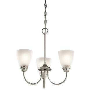 Alcott Hill Graybeal 3-Light Shaded Chandelier