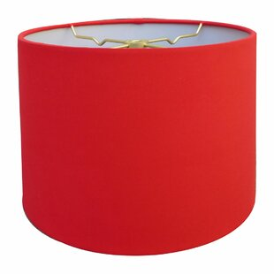 Shallow Hardback Paper Drum Lamp Shade