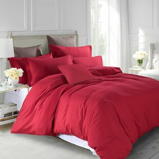 Red Double Duvet Covers Sets