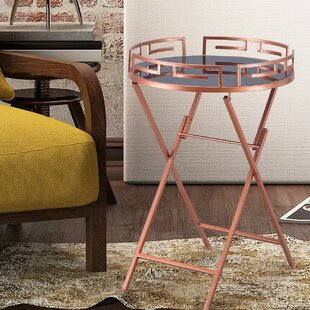 Shop for Collins Modern Accent Metal Tray Table by Everly Quinn