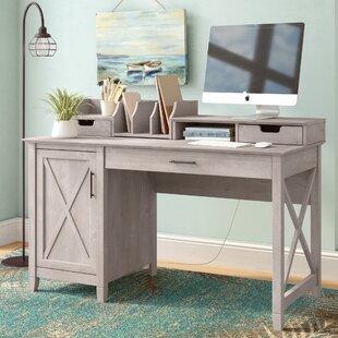 Oridatown Single Pedestal Computer Desk by Beachcrest Home