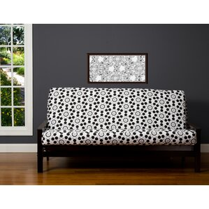 Brayden Studio Zipper Box Cushion Futon Slipcover Image