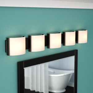 Chaunte 5-Light Bath Bar