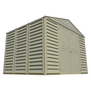 Wood Bridge 10.5 Ft. W X 8 Ft. D Plastic Traditional Storage Shed By Duramax Building Products