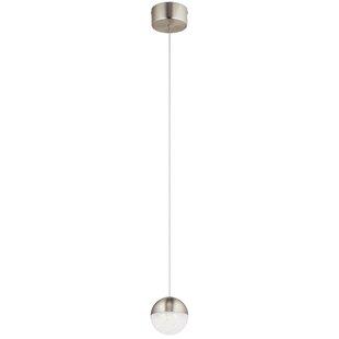 Briarden 1-Light LED Globe Pendant by Wade Logan