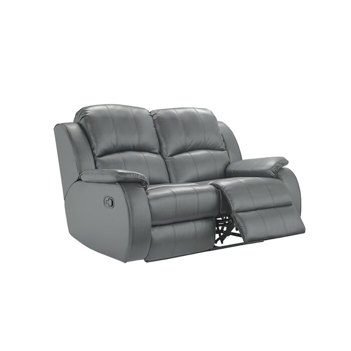Etamin Leather 2 Seater Reclining Sofa