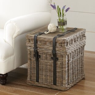 Palm Estates Rattan Side Table