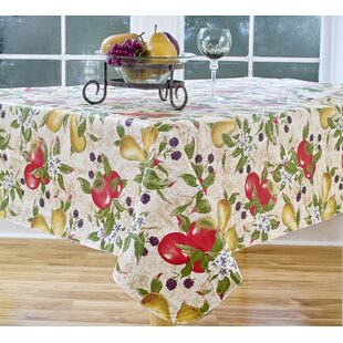 Everyday Fruits Vinyl Tablecloth