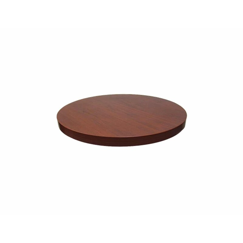 Cafe Tables Round Eased Table Top Wayfair