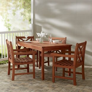 Monterry 5 Piece Dining Set