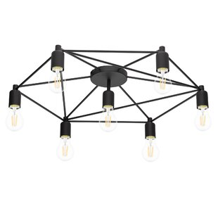 Maison 7-Light Semi Flush Mount by Brayden Studio