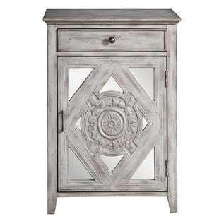 Tecumseh 1 Door Accent Cabinet by Bungalow Rose