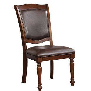 Kermit Upholstered Dining Chair (Set of 2) Alcott Hill