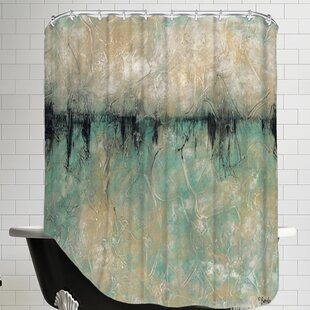 The Forbidden Lake Single Shower Curtain