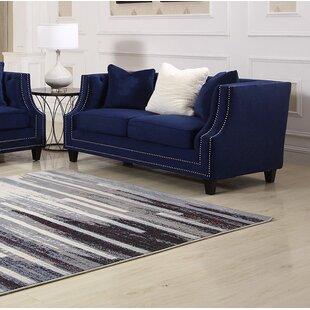 Mercer41 Kibby Living Room Loveseat
