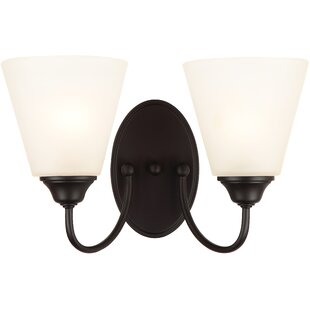 Best Price Galveston 2-Light Wall Sconce By Hardware House