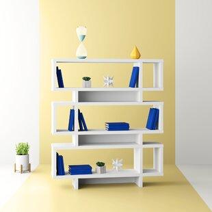 Aleksandra Geometric Bookcase