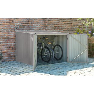 Discount Velo 7 Ft. W X 7 Ft. D Metal Bike Shed