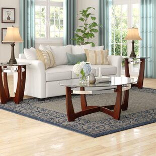 Stoneybrook 3 Piece Coffee Table Set Andover Mills