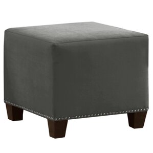 Velvet Ottoman by Skyline Furniture