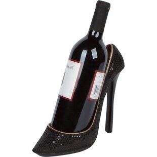 Byerly High Heel Holder 1 Bottle Tabletop Wine Rack