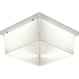 Hollen 2-Light Outdoor Flush Mount