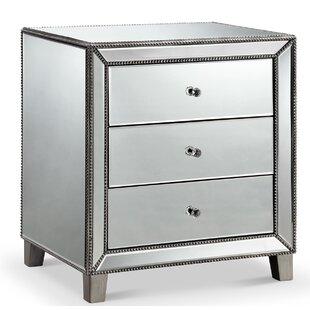 Sheldon 3 Drawer Nightstand