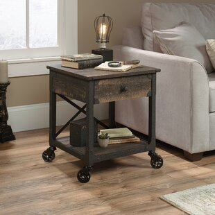 Ruthton End Table with Storage