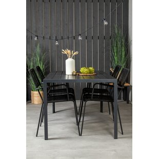 Nealy 4 Seater Dining Set By 17 Stories