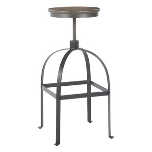 Williston Forge Mellor Adjustable Height Bar Stool