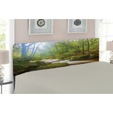 Woodland Upholstered Panel Headboard by East Urban Home