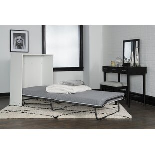 Dewitt Storage Murphy Bed with Mattress