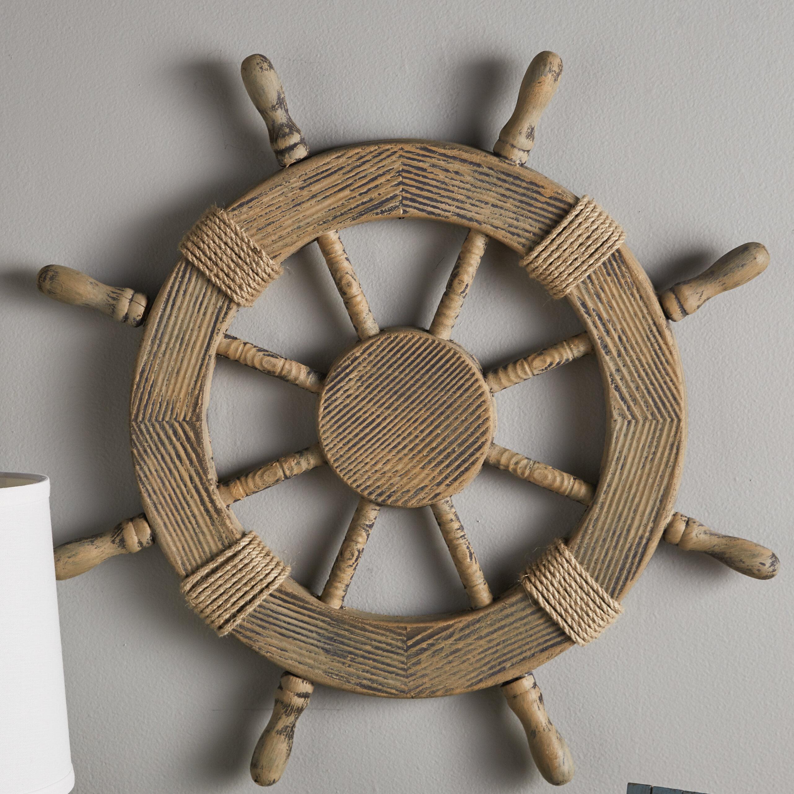 Beachcrest Home Nautical Ship Wheel