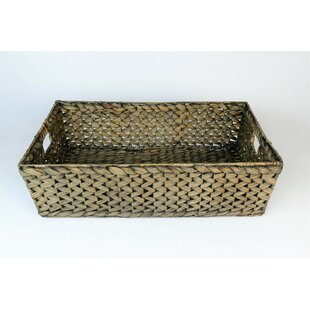 Ala Water Hyacinth 3-Piece Basket Set By Beachcrest Home
