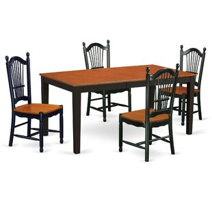 Pillar Modern 5 Piece Dining Set August Grove