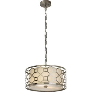 House of Hampton Keiper 1-Light Drum Pendant