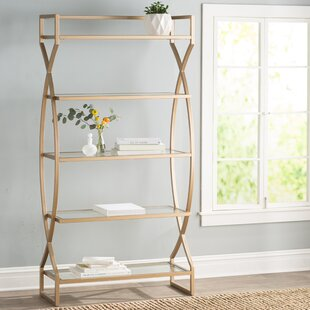 Comparison Lowery Etagere Bookcase by Willa Arlo Interiors