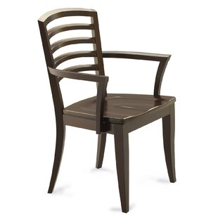 Marcantonio Solid Wood Dining Chair by Latitude Run