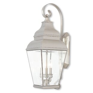 Darby Home Co Southport 3-Light Outdoor Wall Lantern