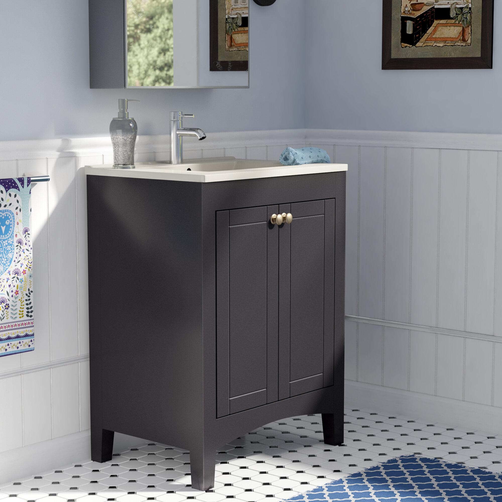 Brant 24 Bathroom Vanity Base Only