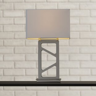 Portables 29.5 H Table Lamp with Rectangular Shade