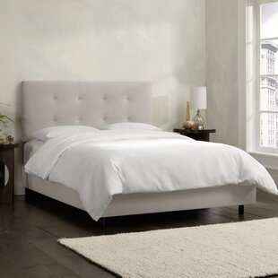 Skyline Furniture Upholstered Panel Bed