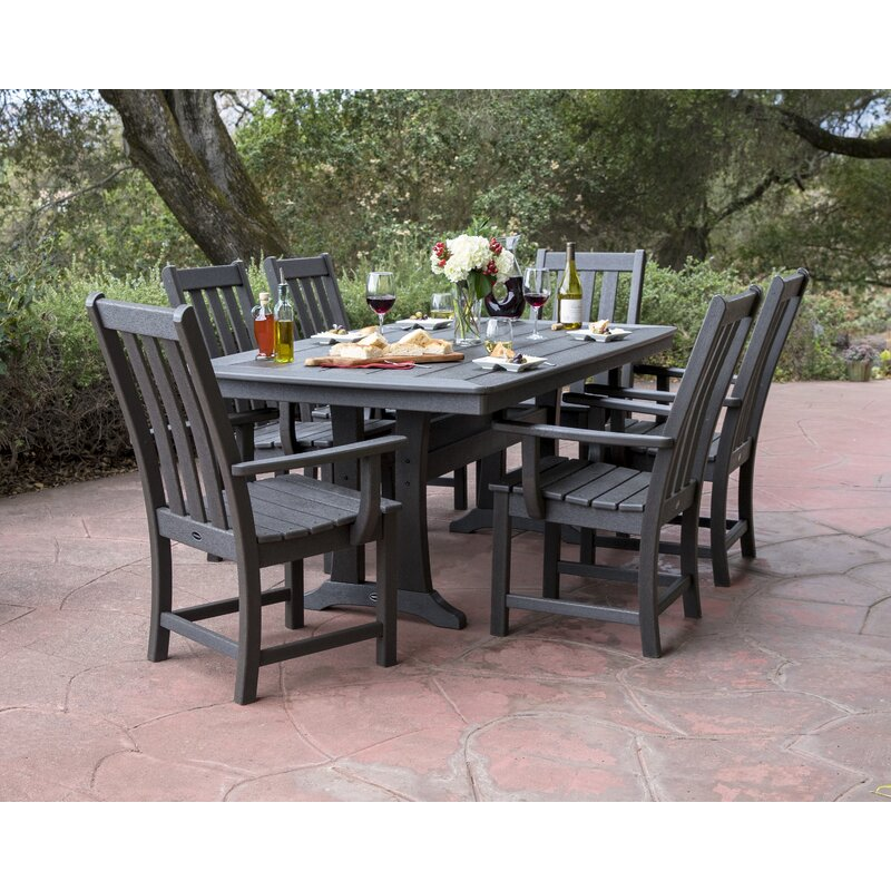 Polywood Vineyard 7 Piece Dining Set