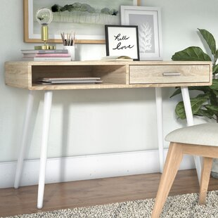 Compare Dehaven Metal Base Writing Desk By Ebern Designs
