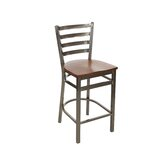 Solid Wood 27 Counter Stool by BFM Seating