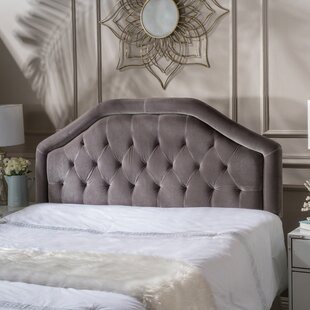 Best Lemaster Queen Upholstered Panel Headboard by Charlton Home