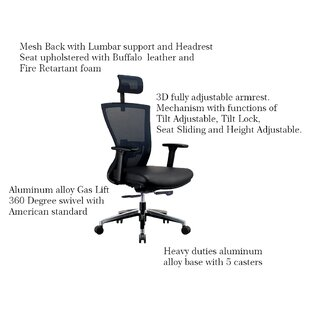 Kinnison Ergonomic Mesh Task Chair