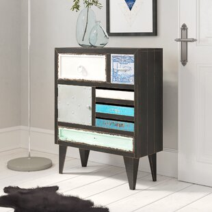 Adriana 6 Drawer Combi Chest By World Menagerie