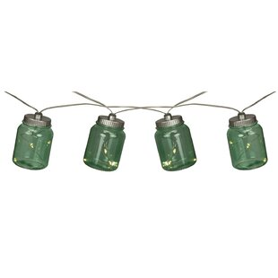 River's Edge Products Jar 10-Light Novelty String Light